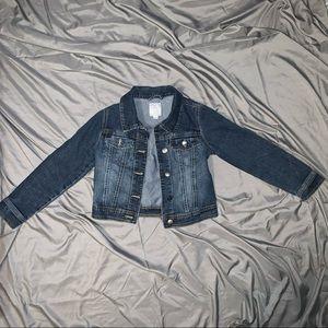 Children's Place Girls Medium Jean Jacket